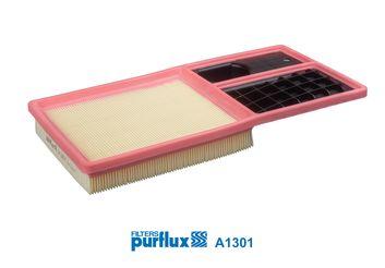 A1301 PURFLUX Filtereinsatz Länge: 375mm, Länge: 375mm, Breite: 191mm, Höhe: 42mm Luftfilter A1301 günstig kaufen