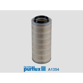 A1354 PURFLUX Höhe: 336mm Luftfilter A1354 günstig kaufen