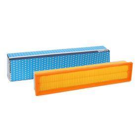 A1371 PURFLUX Länge: 454mm, Breite: 89mm, Höhe: 56mm Luftfilter A1371 günstig kaufen