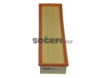 Origine Filtre à air PURFLUX A503 (Longueur: 382mm, Longueur: 382mm, Largeur: 115mm, Hauteur: 57mm)