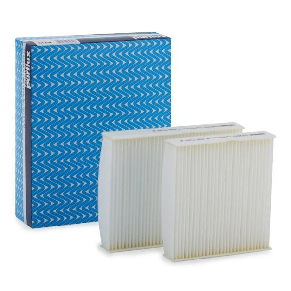 Origine Filtre climatisation PURFLUX AH245-2 (Largeur: 158mm, Hauteur: 32mm, Longueur: 201mm)
