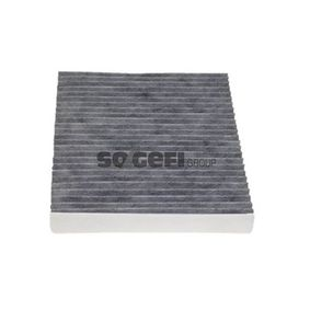 SIC3259 PURFLUX Aktivkohlefilter Breite: 235mm, Höhe: 33mm, Länge: 274mm Filter, Innenraumluft AHC171 günstig kaufen