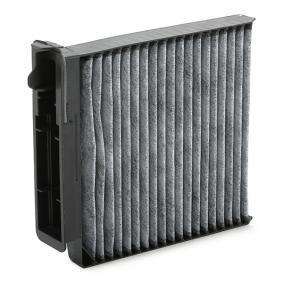 AHC207 PURFLUX Aktivkohlefilter Breite: 185mm, Höhe: 42mm, Länge: 207mm Filter, Innenraumluft AHC207 günstig kaufen
