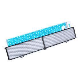 AHC246 PURFLUX Aktivkohlefilter Breite: 133mm, Höhe: 26mm, Länge: 832mm Filter, Innenraumluft AHC246 günstig kaufen