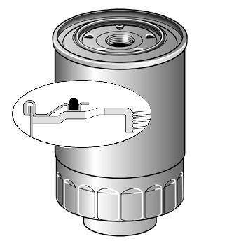 Купете CS441 PURFLUX височина: 140мм Горивен филтър CS441 евтино