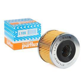 Achat de L108 PURFLUX Diamètre intérieur: 27mm, Ø: 81mm, Hauteur: 64mm Filtre à huile L108 pas chères