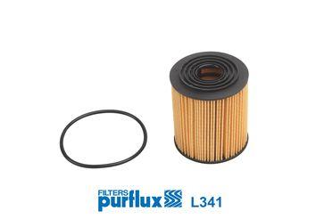 Origine Filtre à huile PURFLUX L341 (Diamètre intérieur: 25mm, Ø: 72mm, Hauteur: 83mm)