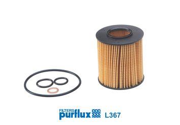 L367 PURFLUX Innendurchmesser: 28mm, Ø: 73mm, Höhe: 80mm Ölfilter L367 günstig kaufen