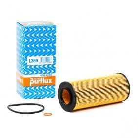 L369 PURFLUX Innendurchmesser: 31,5mm, Ø: 65mm, Höhe: 153mm Ölfilter L369 günstig kaufen