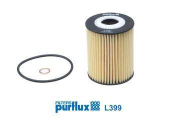 L399 PURFLUX Filtereinsatz Innendurchmesser: 25mm, Ø: 63mm, Höhe: 83mm Ölfilter L399 günstig kaufen