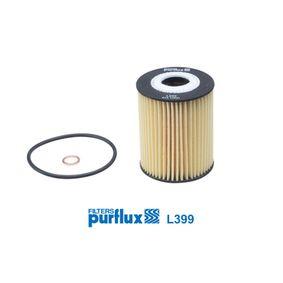 L399 PURFLUX Innendurchmesser: 25mm, Ø: 63mm, Höhe: 83mm Ölfilter L399 günstig kaufen