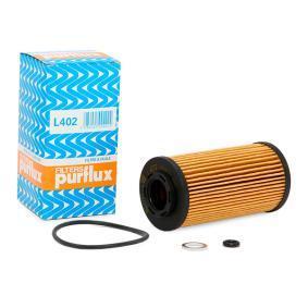 Achat de L402 PURFLUX Diamètre intérieur: 21mm, Ø: 59mm, Hauteur: 121mm Filtre à huile L402 pas chères