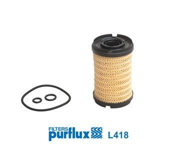 L418 Filtre d'huile PURFLUX - L'expérience aux meilleurs prix