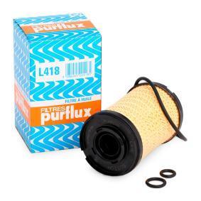 Achat de PURFLUX Diamètre intérieur: 22mm, Ø: 63mm, Hauteur: 101mm Filtre à huile L418 pas chères
