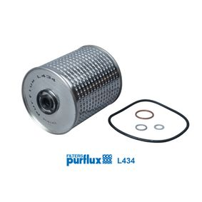 Achat de L434 PURFLUX Diamètre intérieur: 13mm, Ø: 109mm, Hauteur: 130mm Filtre à huile L434 pas chères