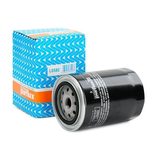 Origine Filtre à huile PURFLUX LS582 (Ø: 96mm, Hauteur: 137mm)