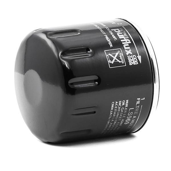LS969 Filtre d'huile PURFLUX LS969 - Enorme sélection — fortement réduit
