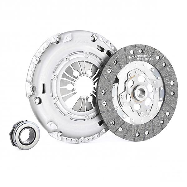 Car spare parts VW VENTO 2014: Clutch Kit SACHS 3000 845 701 at a discount — buy now!