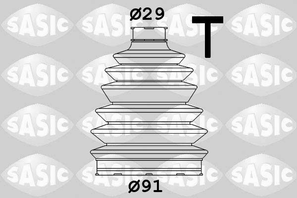 Origine Cardan de transmission et joint homocinétique SASIC 1900007 ()