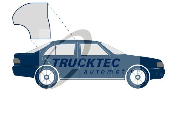 Buy original Rubber door seal TRUCKTEC AUTOMOTIVE 02.53.035