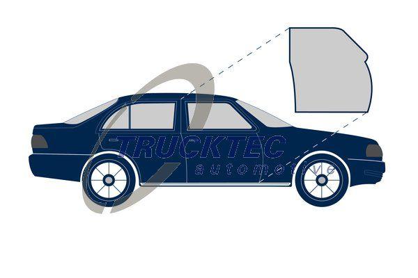 VW POLO Türdichtungen - Original TRUCKTEC AUTOMOTIVE 02.53.038