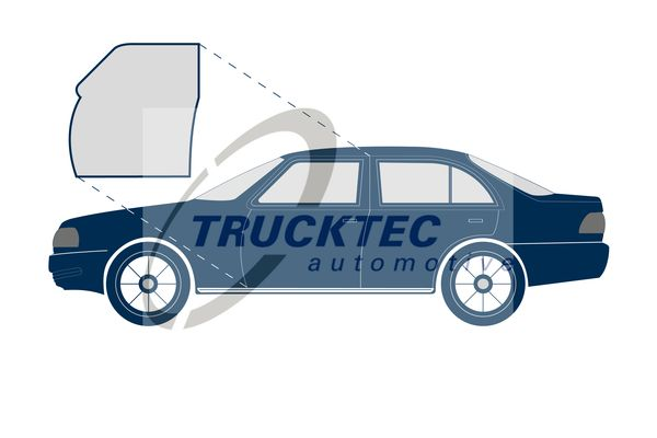 OE Original Autotürdichtung 02.53.074 TRUCKTEC AUTOMOTIVE