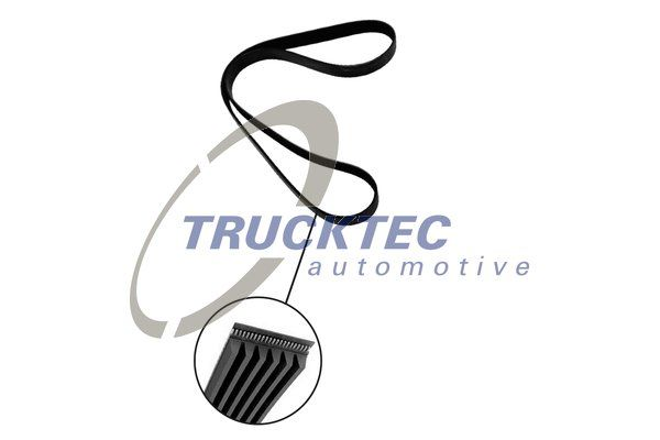 6PK2263 TRUCKTEC AUTOMOTIVE Rippenanzahl: 6, Länge: 2260mm Keilrippenriemen 07.19.107 günstig kaufen
