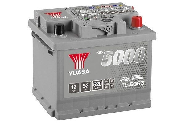 Original SKODA Starterbatterie YBX5063