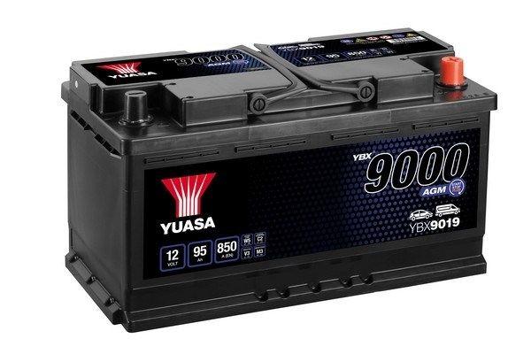 BMW X4 2018 Starterbatterie - Original YUASA YBX9019 Kälteprüfstrom EN: 850A, Spannung: 12V