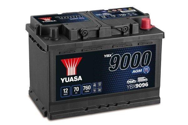 Original SSANGYONG Autobatterie YBX9096