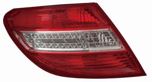 MERCEDES-BENZ C-Klasse 2016 Rückleuchten - Original ABAKUS 340-1908R-UE Farbe: rot