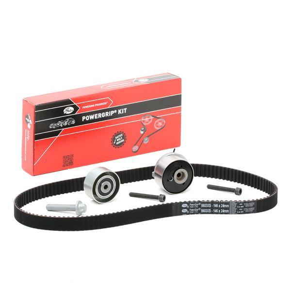 Car spare parts ALFA ROMEO 159 2011: Timing Belt Set GATES K015603XS at a discount — buy now!
