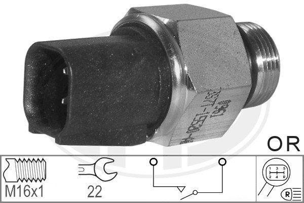 ERA: Original Schalter Rückfahrleuchte 330580 (Anschlussanzahl: 2)