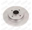Tarcza hamulcowa SKBD-0022104 — Najlepsze ważne oferty OE 42 49 45 części zamiennych