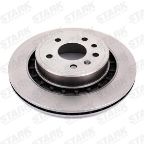 SKBD-0022252 STARK Innenbelüftet, mit Schrauben Ø: 300mm, Bremsscheibendicke: 20mm Bremsscheibe SKBD-0022252 günstig kaufen