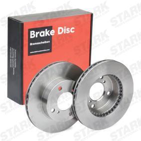 SKBD-0022271 STARK Innenbelüftet, ohne Radnabe, ohne Radbefestigungsbolzen Ø: 231mm, Bremsscheibendicke: 20mm Bremsscheibe SKBD-0022271 günstig kaufen