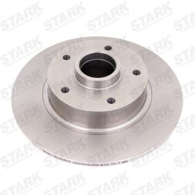 SKBD-0022309 STARK Voll Ø: 260mm, Felge: 5-loch, Bremsscheibendicke: 8mm Bremsscheibe SKBD-0022309 günstig kaufen