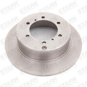SKBD-0022124 STARK Hinterachse, Voll Ø: 315mm, Felge: 6-loch, Bremsscheibendicke: 18mm Bremsscheibe SKBD-0022124 günstig kaufen