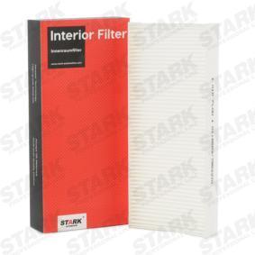Achetez et remplacez Filtre, air de l'habitacle SKIF-0170168