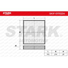 Filter, Innenraumluft STARK SKIF-0170234 günstige Verschleißteile kaufen