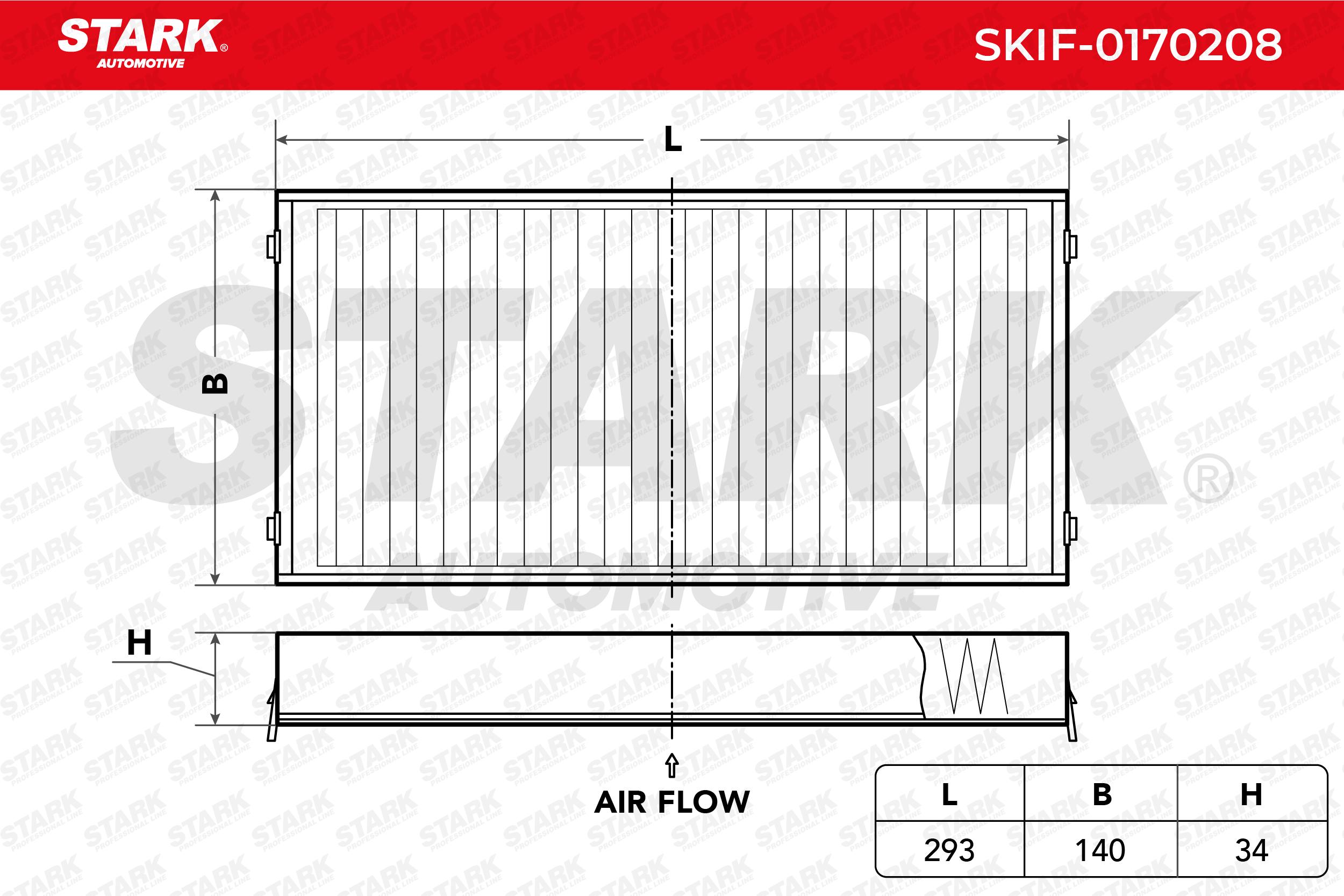 Achetez Climatisation STARK SKIF-0170208 (Largeur: 140mm, Hauteur: 34mm, Longueur: 293mm) à un rapport qualité-prix exceptionnel