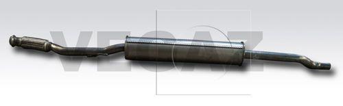 MOS-293 VEGAZ mitte Länge: 1910mm Endschalldämpfer MOS-293 günstig kaufen