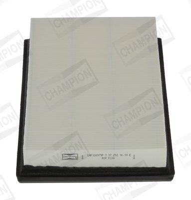CAF100979P CHAMPION Filtereinsatz Länge: 243mm, Länge: 250mm, Breite: 151mm, Breite 1: 144mm, Breite 2: 138mm, Höhe: 39mm Luftfilter CAF100979P günstig kaufen