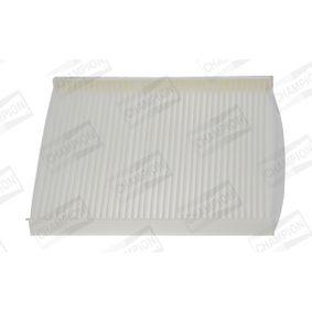 CCF0223 CHAMPION Pollenfilter, Partikelfilter Breite: 178mm, Höhe: 18mm, Länge: 196mm Filter, Innenraumluft CCF0223 günstig kaufen