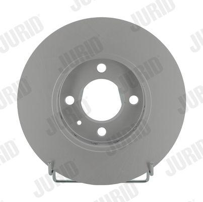 Achetez Disque JURID 562727JC (Ø: 256mm, Nbre de trous: 4, Épaisseur du disque de frein: 22mm) à un rapport qualité-prix exceptionnel