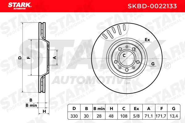Bremsscheibe STARK SKBD-0022133 Bewertungen