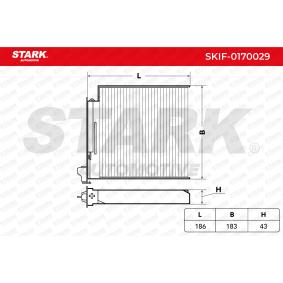Filtru, aer habitaclu STARK SKIF-0170029 cumpărați și înlocuiți