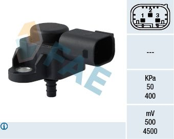 15089 FAE Pol-Anzahl: 3-polig Sensor, Saugrohrdruck 15089 günstig kaufen