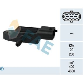 15106 FAE Pol-Anzahl: 3-polig Sensor, Saugrohrdruck 15106 günstig kaufen