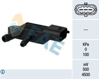 16105 FAE Pol-Anzahl: 3-polig Sensor, Abgasdruck 16105 günstig kaufen
